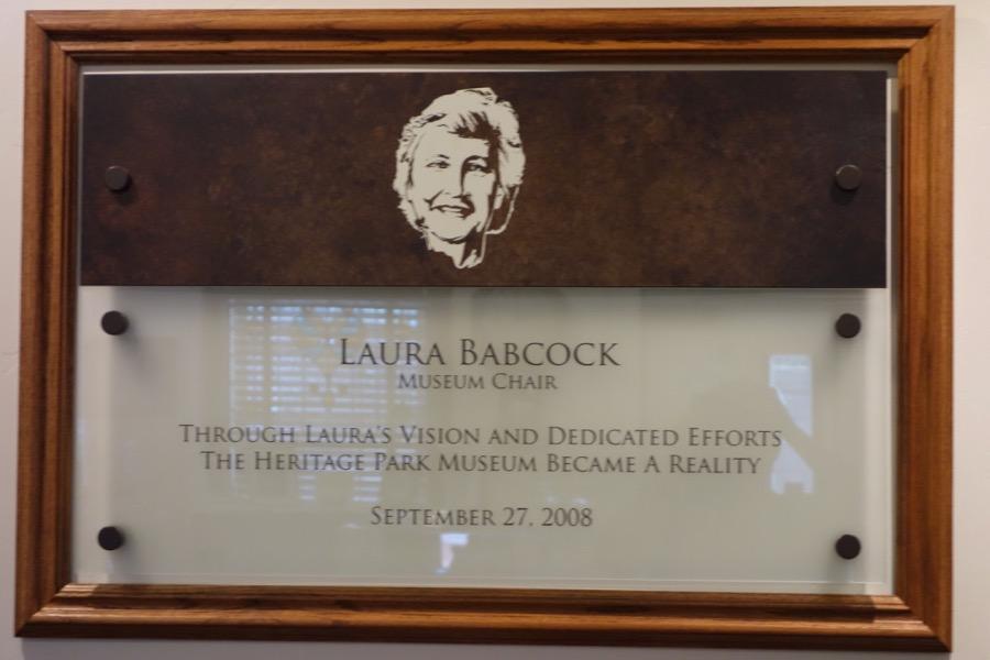 Babcock Plaque