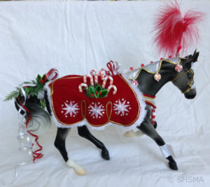 Peppermint Kiss - 2015 Breyer Holiday Horse