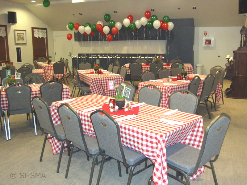 Italian Themed Birthday Rental
