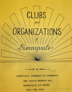 Clubs and Organizations of Sunnyvale