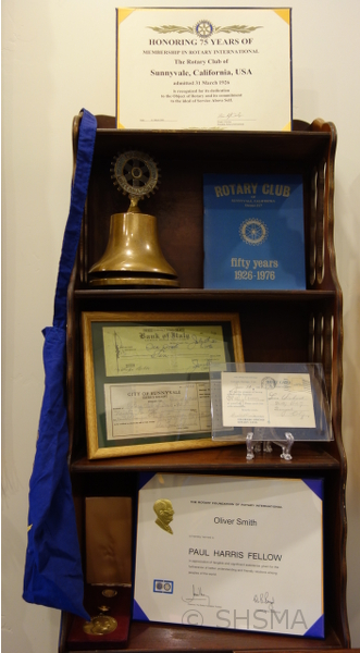 Rotary exhibit items