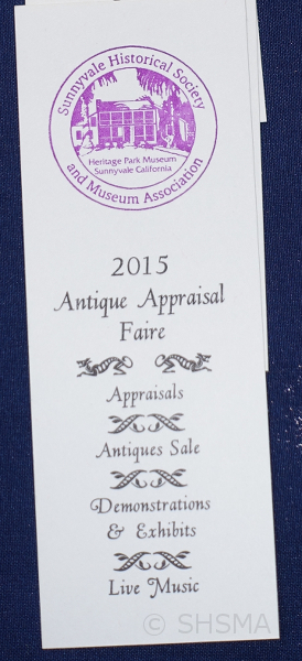 2015 Faire Bookmark