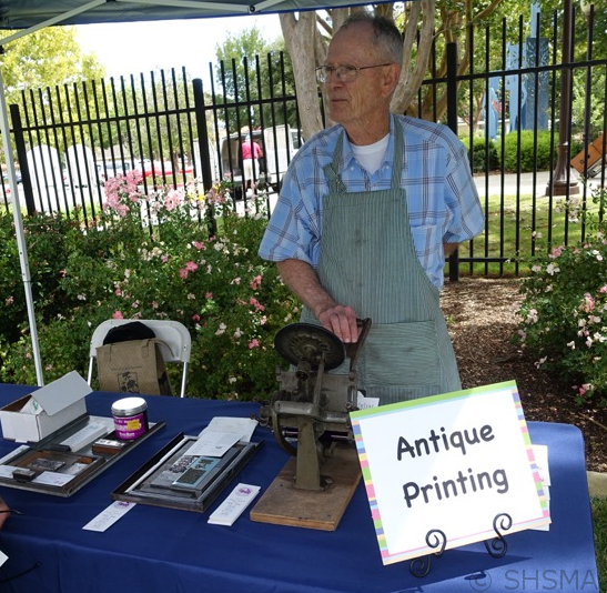 2015 Antique Printing Demonstration