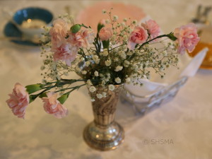 Spring Tea Setting Roses