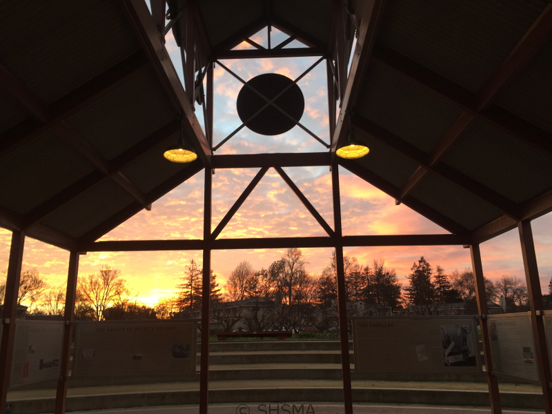 Winter sunrise, January 8, 2016