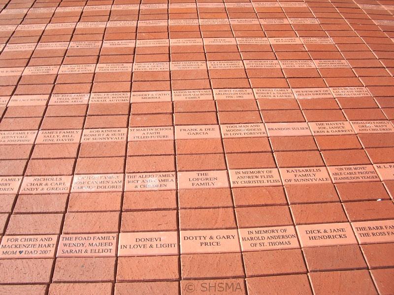 February 4, 2008 — Dedication Bricks