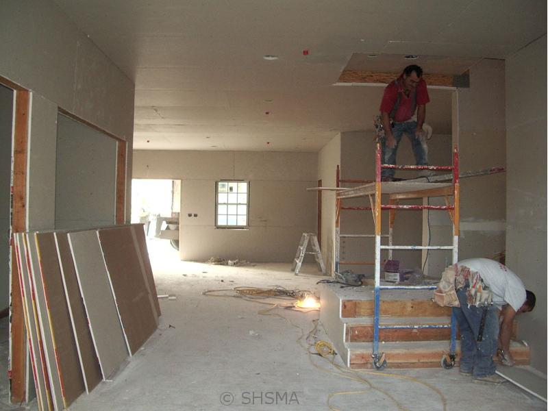 November 8, 2007 — Drywall Installed
