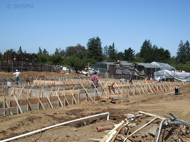 June 7, 2007 — Foundation takes shape