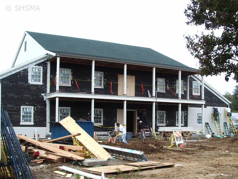 October 16, 2007 — Front Siding Installation Started