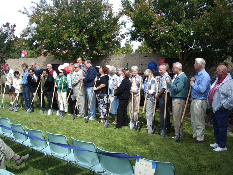 September 30, 2006 — Formal ground-breaking ceremony on-site