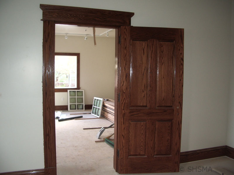 January 24, 2008 — Interior Raised Paneled Doors