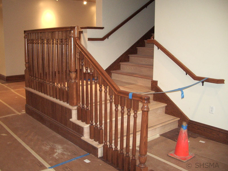 February 25, 2008 — Interior Staircase Installed