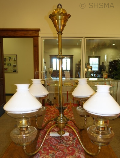 Kerosene chandelier