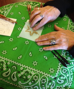 2015 Craft Fair Lace Class