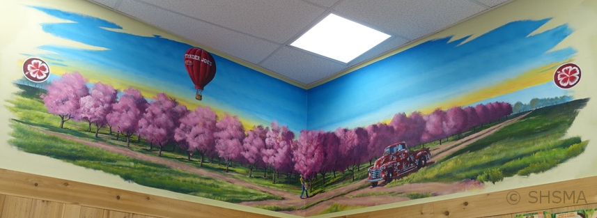 Trader Joe Mural, orchards