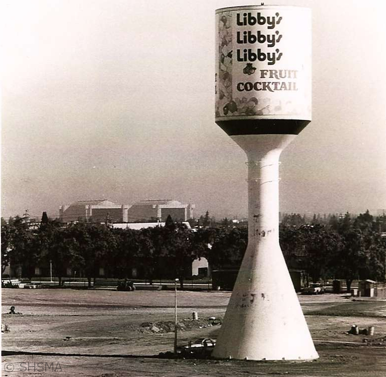 Libby Water Tower 1970