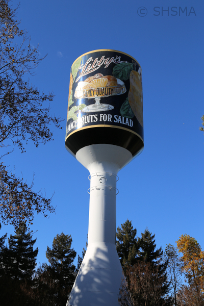 Libby Water Tower 1930 design