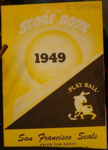 San Francisco Seals 1949 program