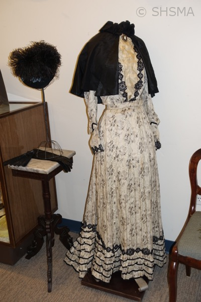 1890's dress and hat