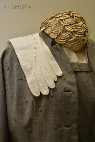 closeup of glove