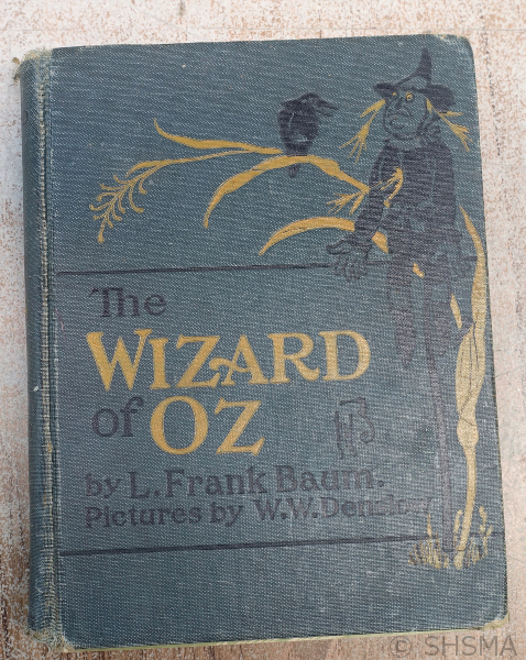 Wizard of Oz, printed 1903