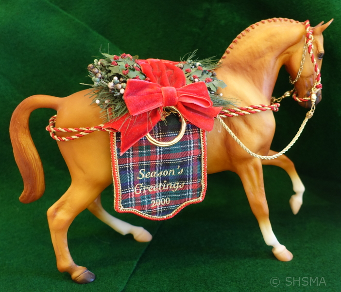 Holiday Hunt - 2000 Breyer Holiday Horse