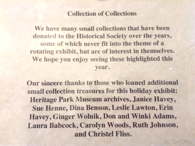 Collections Sign