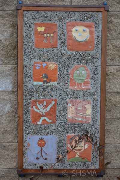Pippin Elementary School Tile Mural 1