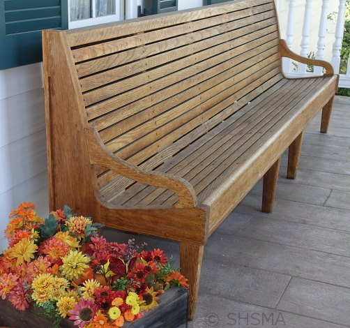 Railroad Bench