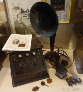 Sunnyvale Radio Shop Artifacts