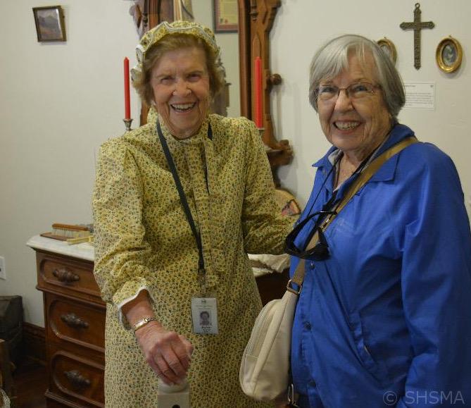 Jackie McCarroll & Evelyn White