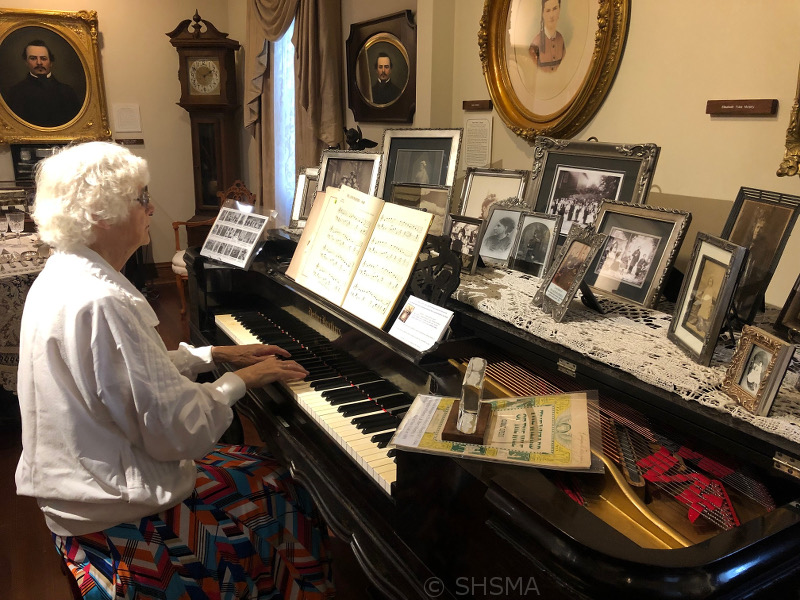 Music in the parlor