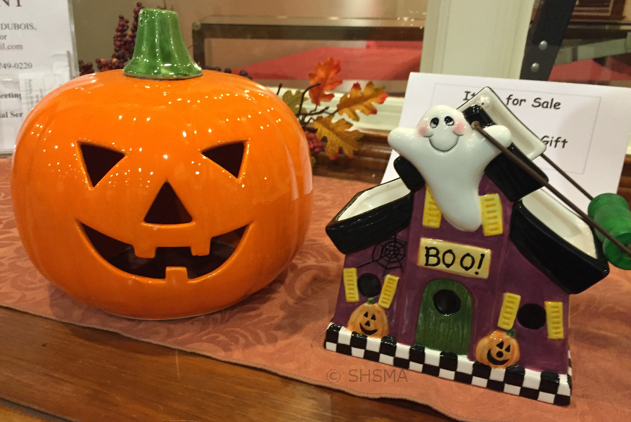 Pumpking and Boo Teapot