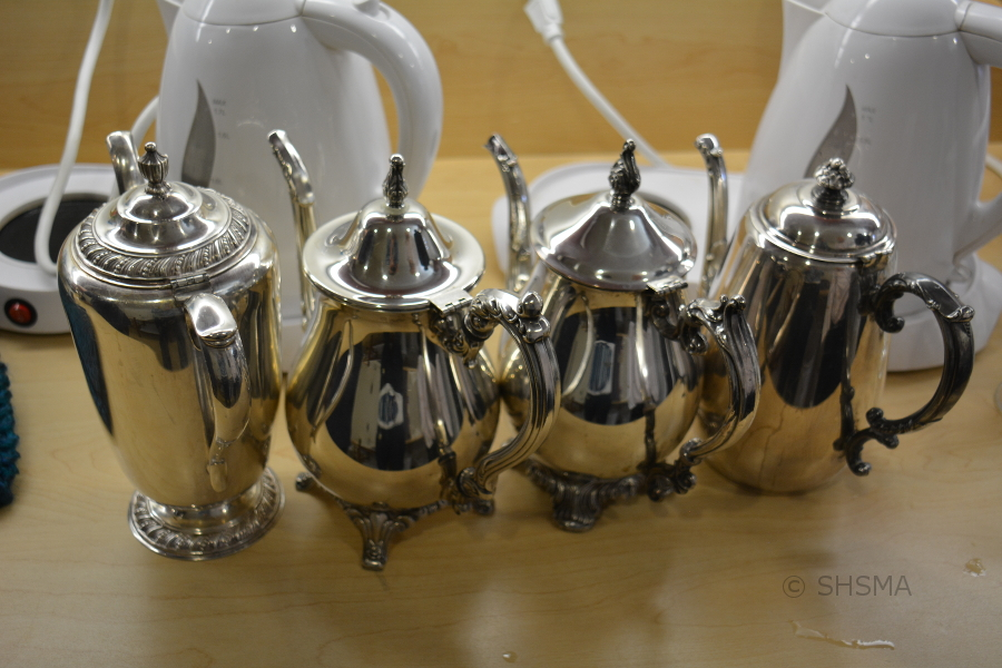 Group of Tea Pots