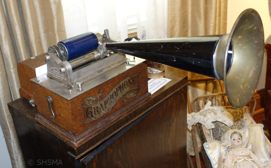 Graphophone in the Parlor
