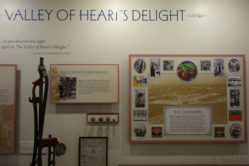 Valley of the Heart's Delight Exhibit