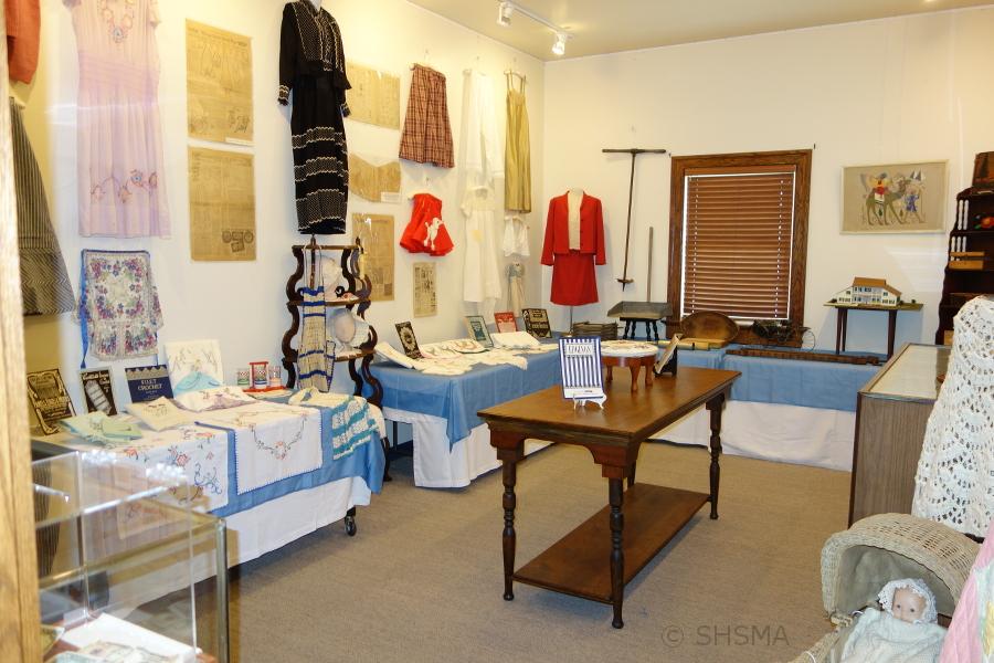 Homemade Handiwork Exhibit Room Overview