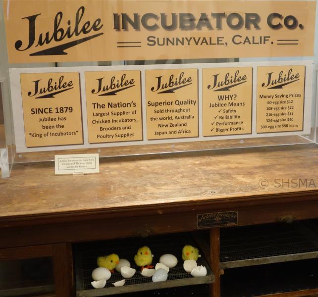Jubilee Incubator Exhibit