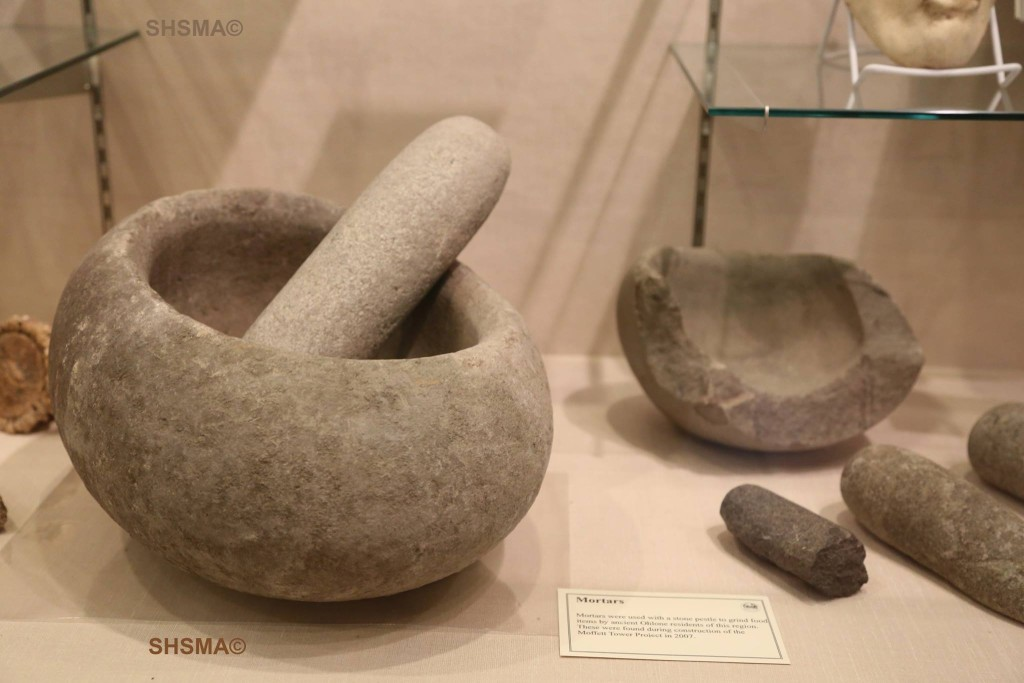 Ohlone mortar and pestle