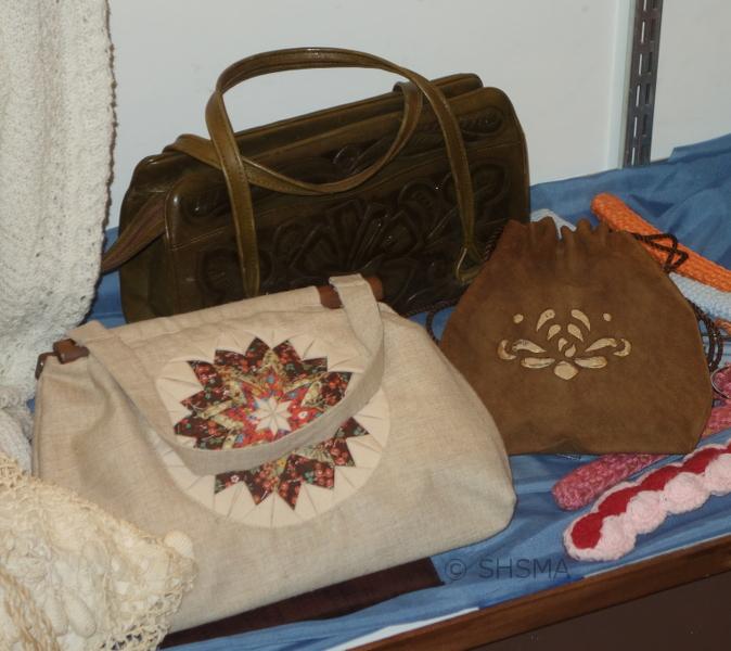 decorated purses