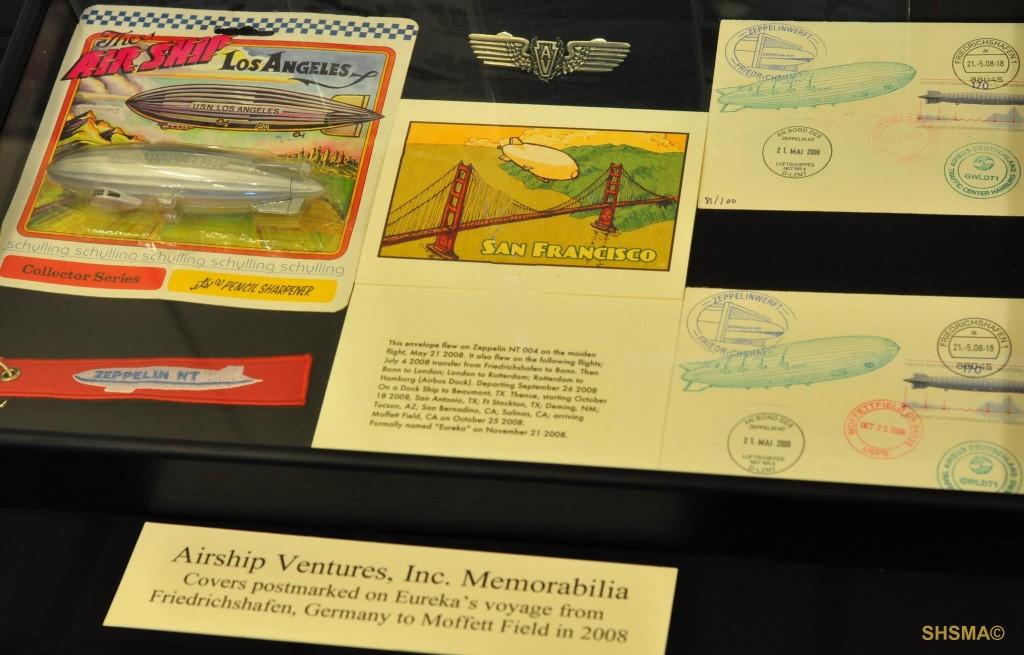 Airship Ventures memorabilia