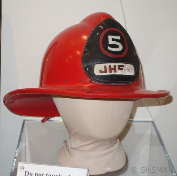 Joshua Hendy Fire Hat