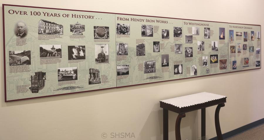 Timeline for Hendy-Westinghouse-Northrup Grumman