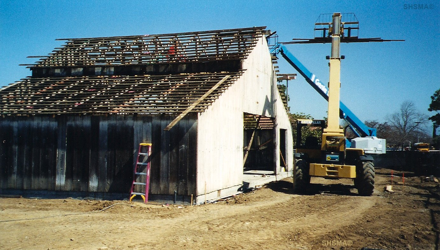 Deconstruction in 2004 before relocation to Sunnyvale