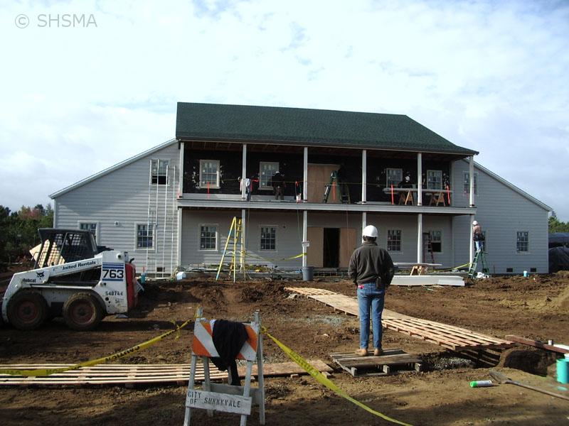 October 17, 2007 — Front Siding Installation