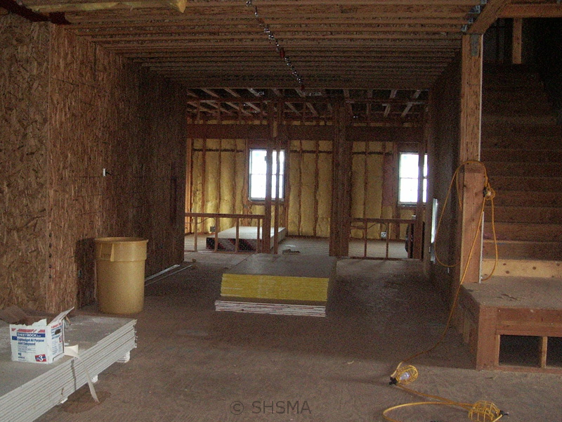 October 26, 2007 — Insulation Completed