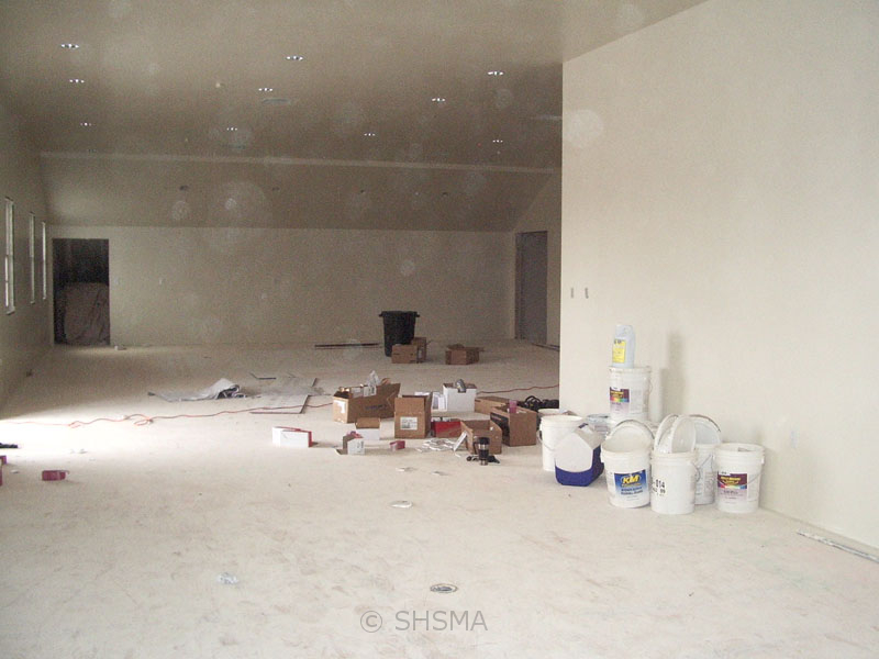 December 5, 2007 — Interior Painting Started