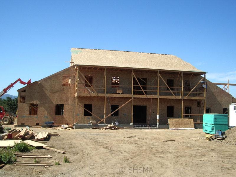 August 30, 2007 — Plywood Roofing Begins