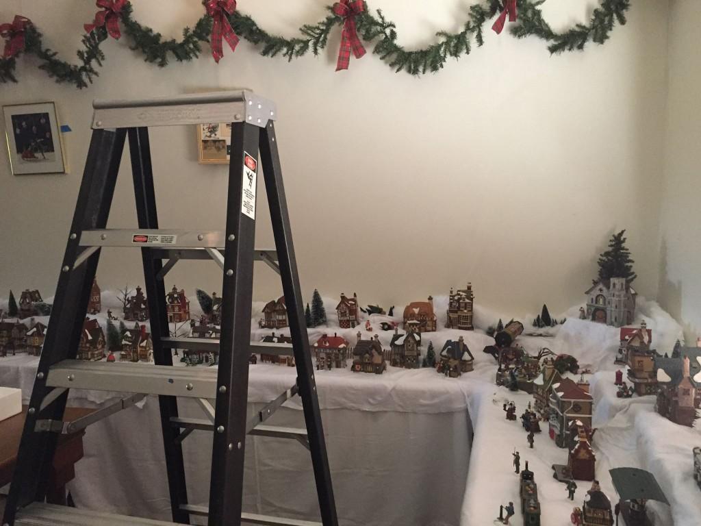 2014 Holiday Room Setup