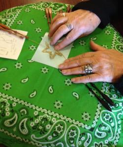 2015 Craft Fair Lace Class